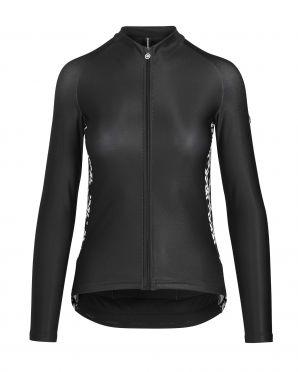 Assos UMA GT spring/fall LS fietsshirt zwart dames