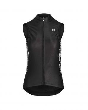 Assos Uma GT Spring/fall fietsvest zwart dames