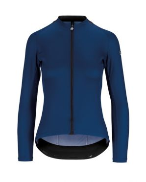 Assos UMA GT Summer lange mouw fietsshirt blauw dames