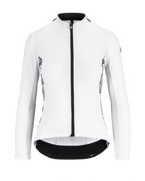 Assos UMA GT Summer lange mouw fietsshirt wit dames