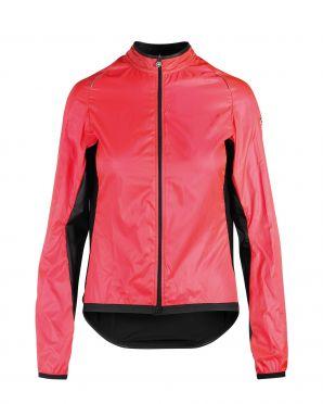 Assos Uma GT wind fietsjack roze dames