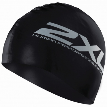 2XU Latex swim cap zwart