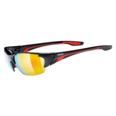 Uvex Blaze Lll Sportbril zwart/rood