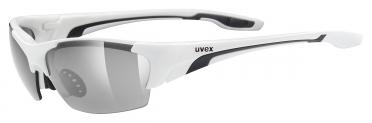 Uvex Blaze Lll Sportbril wit/zwart
