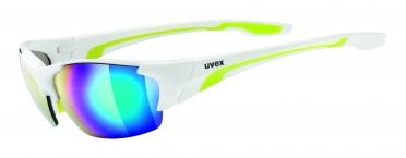 Uvex Blaze Lll Sportbril wit/groen