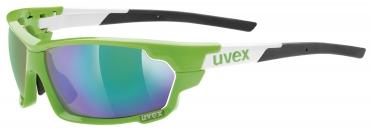 Uvex Sportstyle 702 Sportbril groen/wit