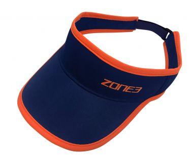 Zone3 Coolmax Race visor blauw/oranje