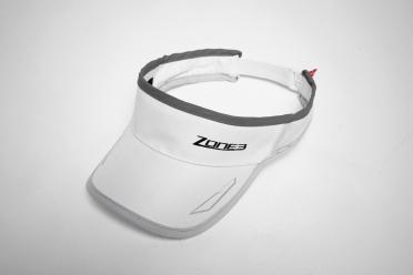 Zone3 Coolmax Race visor wit/grijs