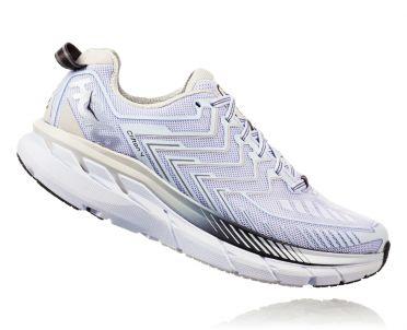 Hoka One One Clifton 4 hardloopschoenen wit dames