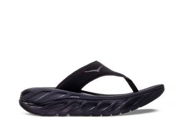 Hoka One One ORA Recovery Flip slippers zwart dames