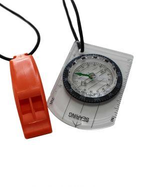 Zone3 Swimrun kompas en fluitje combo