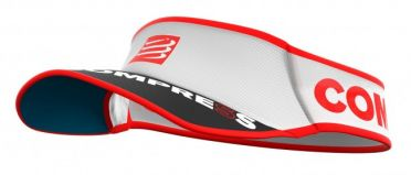 Compressport Ultralight hardloop visor wit
