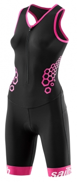 Sailfish Competition trisuit roze dames