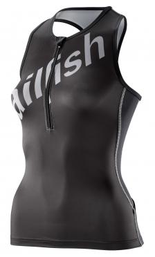 Sailfish Team Tri top zwart/zilver dames