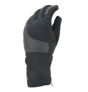 SealSkinz Cold weather reflecterende fietshandschoenen zwart