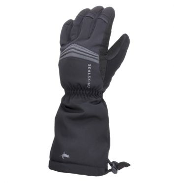 SealSkinz Extreme cold weather reflecterende handschoenen zwart