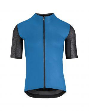Assos XC korte mouw fietsshirt blauw heren
