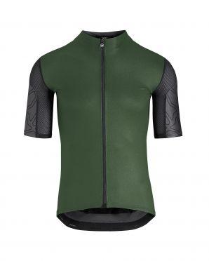 Assos XC korte mouw fietsshirt groen heren