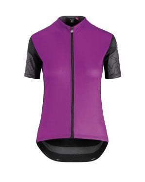 Assos XC korte mouw fietsshirt paars dames