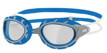 Zoggs Predator transparante lens zwembril blauw/grijs