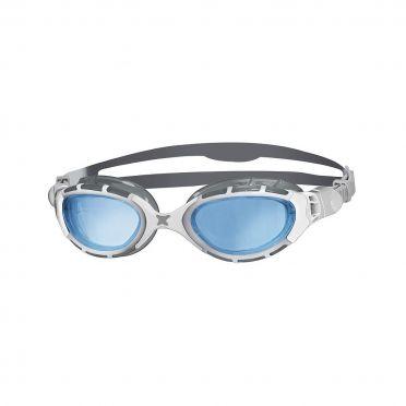 Zoggs Predator flex 2.0 zwembril zilver/wit