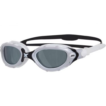 Zoggs Predator flex Polarized zwembril wit zwart