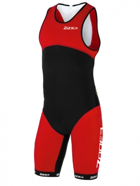 Zone3 Aeroforce Sub 220 tri suit back zip heren