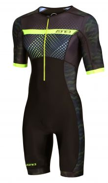 Zone3 Activate plus korte mouw trisuit Revolution heren