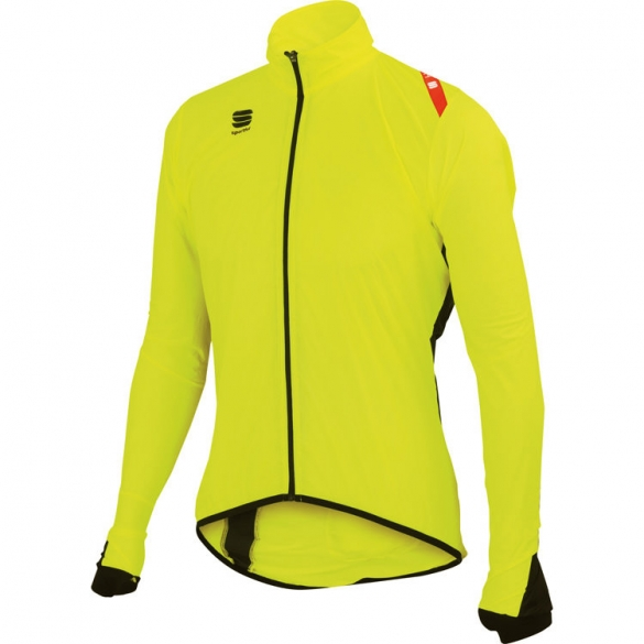Sportful Hot Pack 5 fietsjack heren geel/fluo  1101135-091