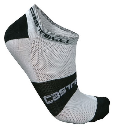Castelli fietssokken Lowboy sock wit 7069-001  07069-001