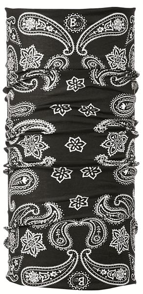 BUFF Original buff printed cashmere black  100407