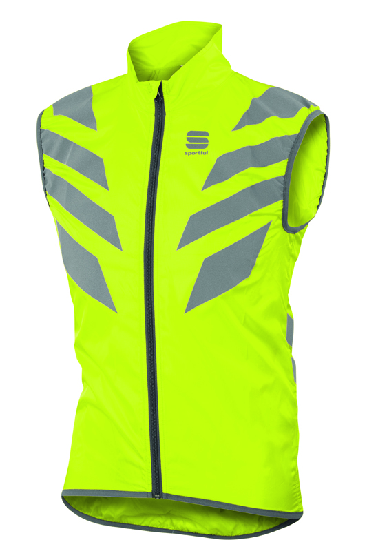Sportful Reflex mouwloos vest fluo geel heren  1101636-091