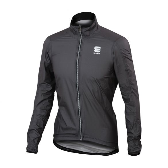Sportful Stelvio lange mouw jacket antraciet heren  1101759-428