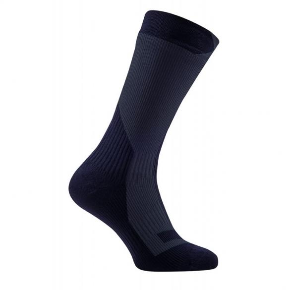 Sealskinz Trekking thick mid waterdichte sokken zwart  111161707-001