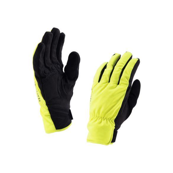 SealSkinz Brecon fietshandschoenen geel/zwart  121161703-070