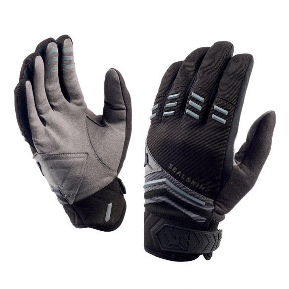 SealSkinz Dragon eye MTB fietshandschoenen zwart/grijs  1211640-001