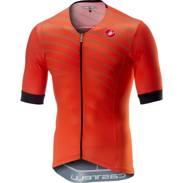 Castelli Free speed race jersey tri top oranje heren  18105-034