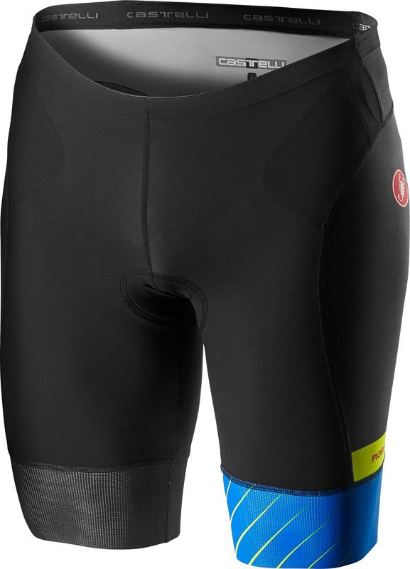 Castelli Free tri short zwart/blauw heren  18107-059