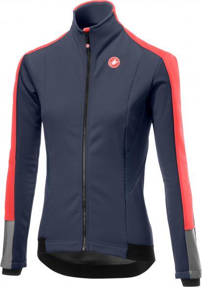 Castelli Mortirolo 3 W lange mouw jacket donkerblauw dames  18542-070
