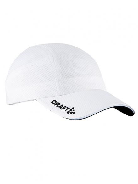 Craft Running cap hardloop pet wit  1900095-1900