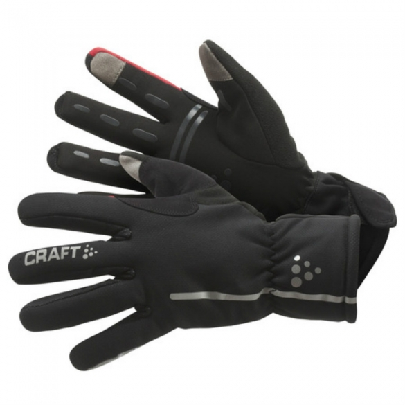 Craft Bike Siberian handschoenen zwart 1901623  1901623-9430