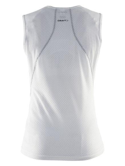 939327206bbaf Craft Cool mesh superlight mouwloos ondershirt wit dames 1903404-1900