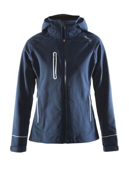 Winterjas Donkerblauw Dames.Craft Cortina Soft Shell Winterjas Blauw Navy Dames Kopen Bestel