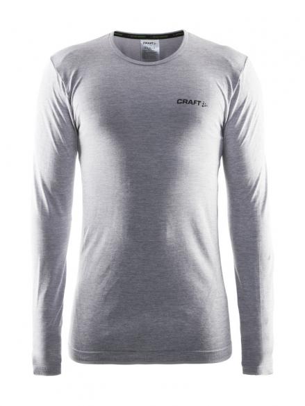 Craft Active Comfort roundneck long sleeve ondershirt grijs heren  1903716-1950