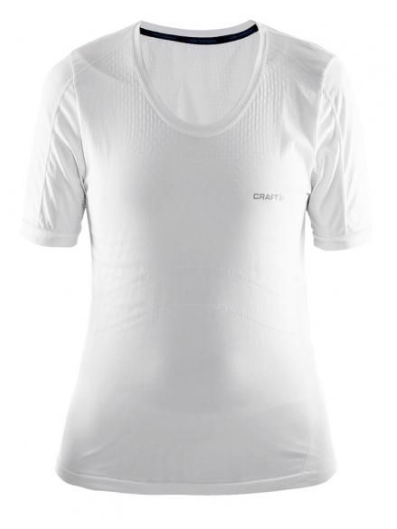 aba2e8d5e1d Craft Stay Cool Mesh Seamless shirt dames wit