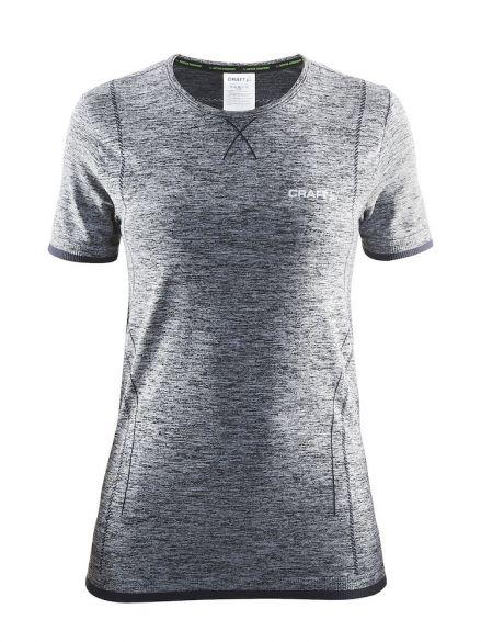 3d25319a8ba Craft Active Comfort korte mouw ondershirt grijs dames