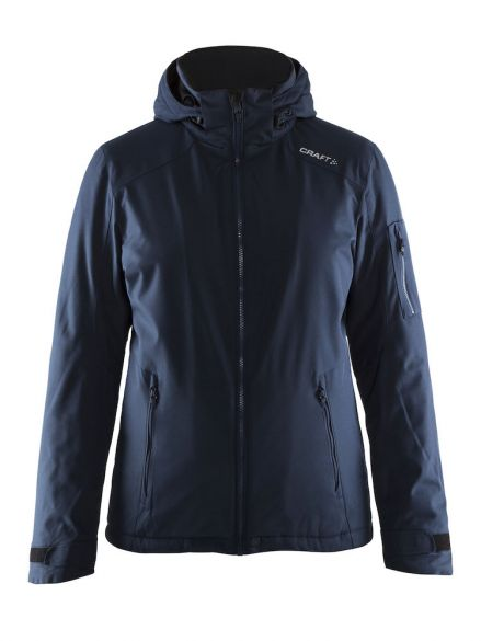 Craft Isola winterjas blauw/navy dames  1903915-1395