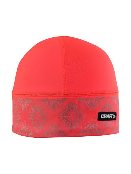 Craft Brilliant 2.0 hardloopmuts winter rood  1904302-2801