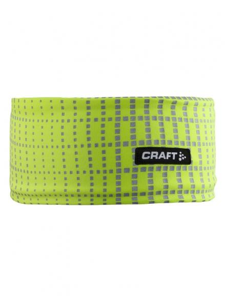 Craft Brilliant 2.0 hoofdband geel/reflectie   1904303-2851