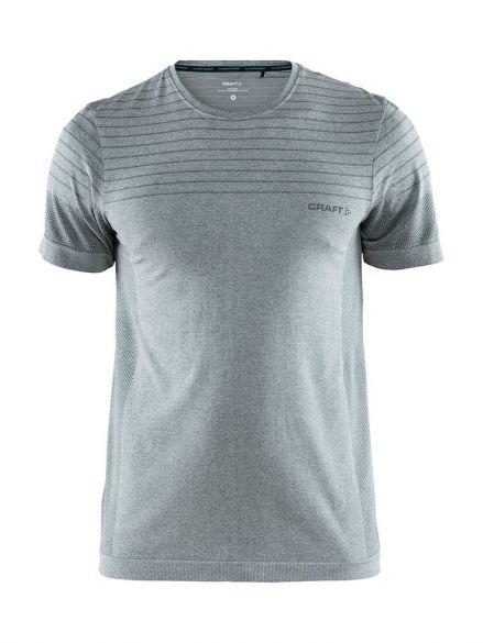 Craft cool comfort korte mouw ondershirt grijs/melange heren  1904916-1615